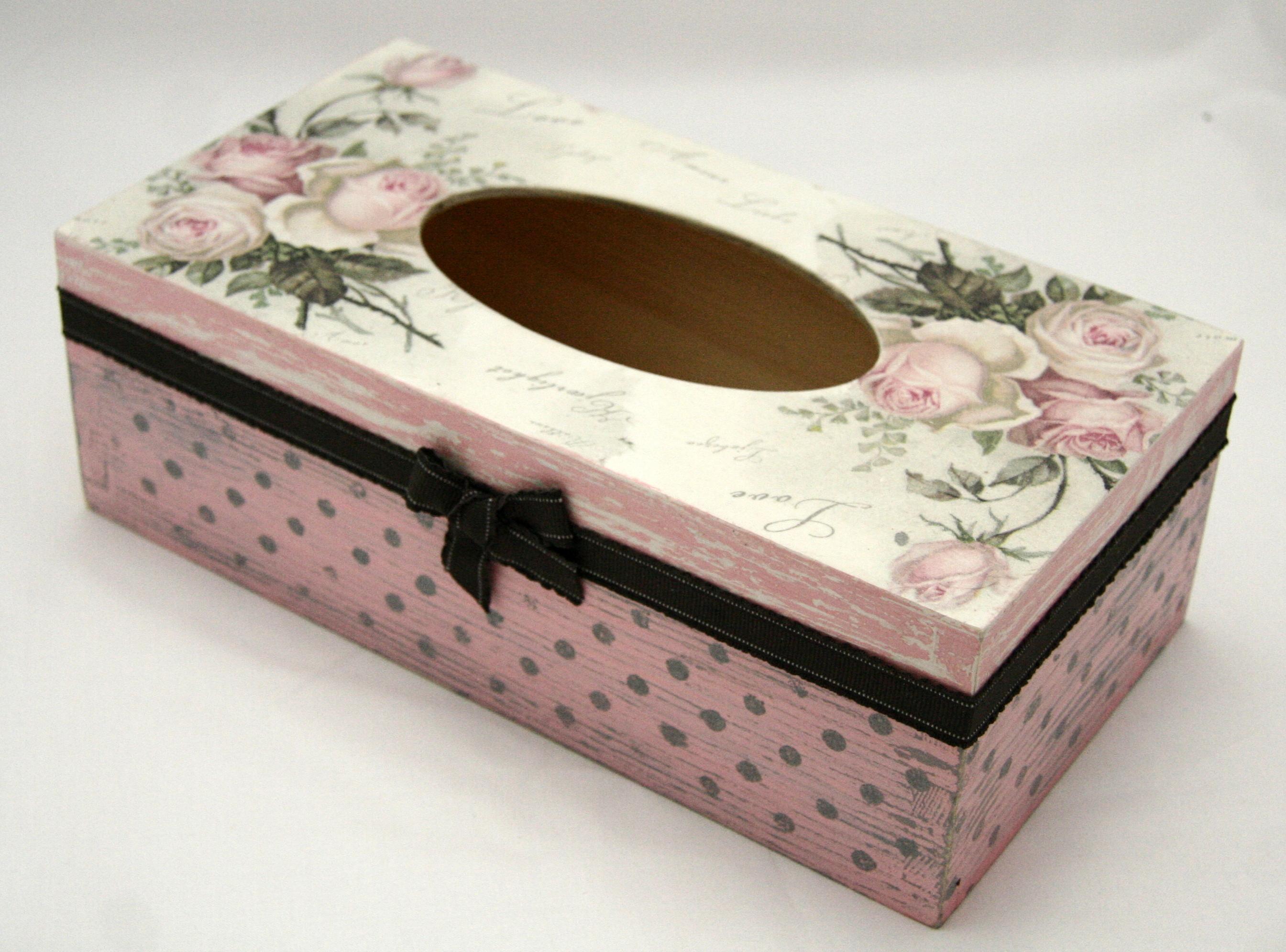 chustecznik farba kredowa Vintage antique rose