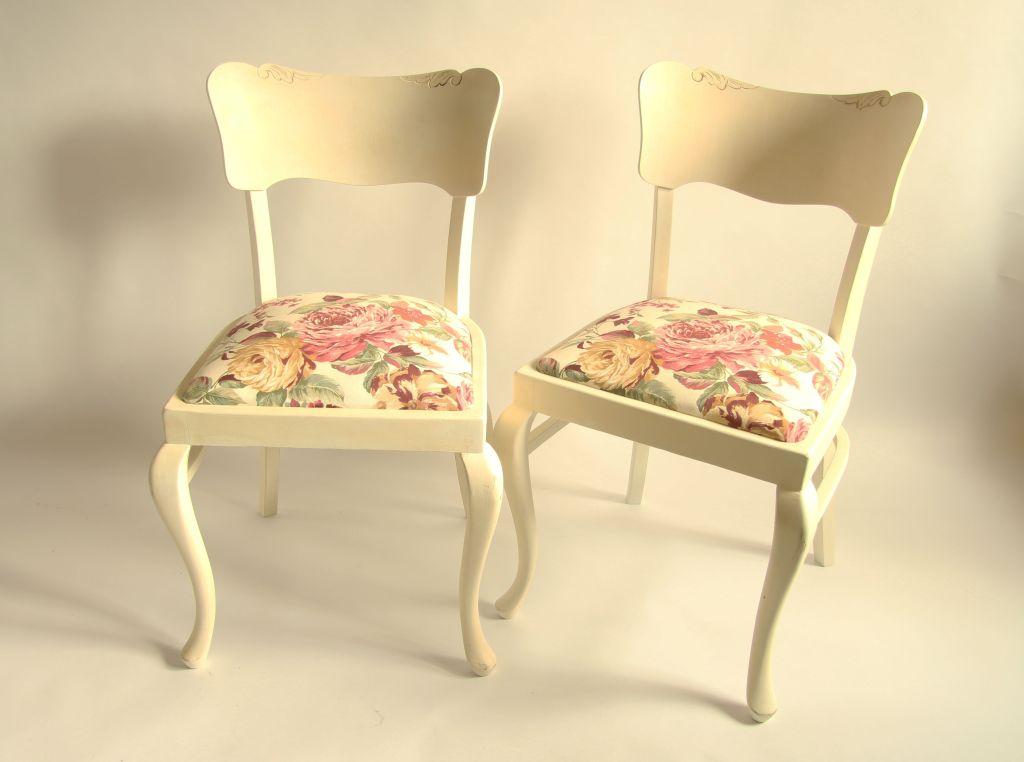 krzesło ludwik farby kredowe
