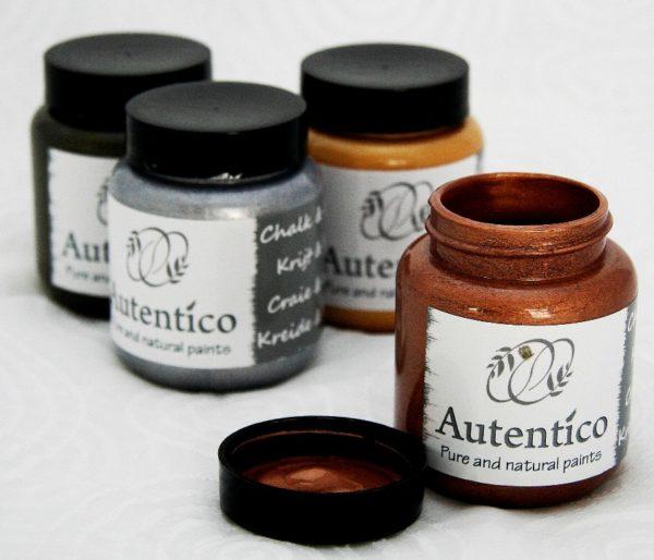 Farby kredowe metaliczne Autentico