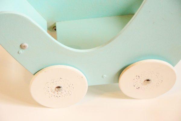 wózek dla lalek odnawianie mebli
