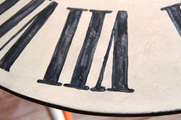 stolik PRL, odnawianie mebli, farba kredowa