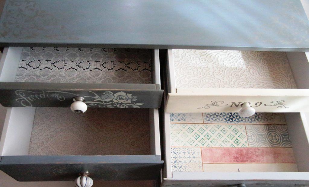 jak odnowić dno szuflady