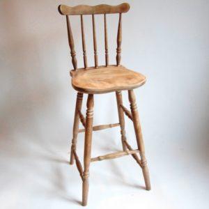hocker stołek barowy patyczak fara PRL