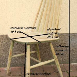 krzesło patyczak, krzesło PRL
