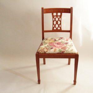 krzesło tapicerowane stylowe